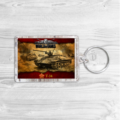 "Брелок ""World of Tanks"""